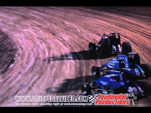 Santa Maria Speedway 8-13-11 - USAC/CRA Sprint Cars