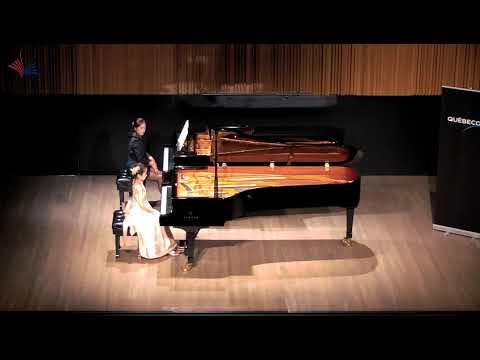 Giulianna Chen (8 Yrs) plays Bach Piano Concerto in F minor in the 2018 CMC Final