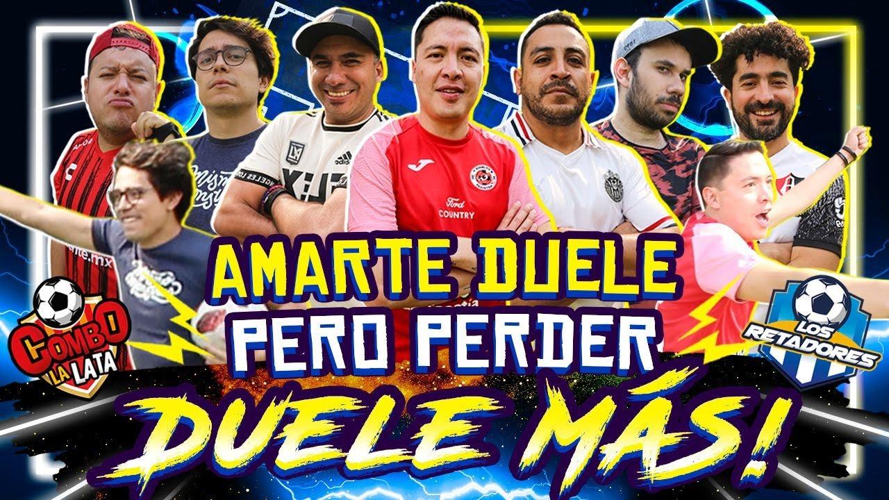 #LaReta AmarteDuele regresa pero a la cancha: ArmandoHernandez, LuisFernandoPeña,  VS Werever y Alex