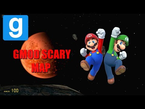 """""""DANCING LUIGI"""" Scary Map Gmod Scary and Funny Moments w/ superprime9"""