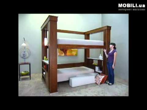 ≥ Кровать двухэтажная двуспальная, супер кровать Киев купить