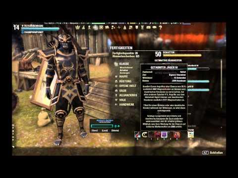 (ger) The Elder Scrolls Online - Nachtklinge DD SetUp - Stamina PvE und PvP