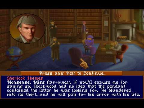 Let's Play Sherlock Holmes - Part 43: Holmes Ends the Game |