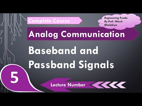Baseband Signals And Passband Signals In Communication Engineering By Engineering Funda