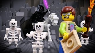 LEGO City Skeleton Attack STOP MOTION LEGO Halloween: Skeleton Treasure Hunt | LEGO | Billy Bricks