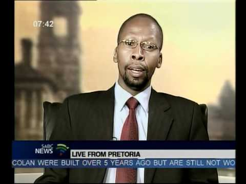 Dr Sandile Malinga from The South African National Space Agency (SANSA)