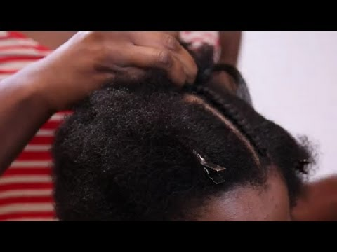 How To French Braid African-American Hair With Extensions : African-American Hair Care