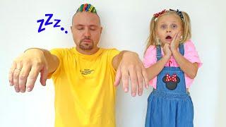 Алиса и папа - детская история на ночь про лунатика