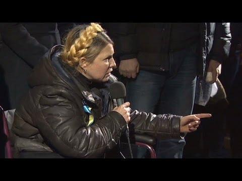Opposition leader Tymoshenko returns