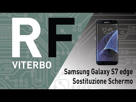 🔧 Riparare sostituire lcd e vetro su Samsung Galaxy S7 Edge (G935F). G935F Screen repair.