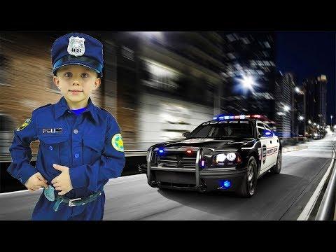Мультфильм про полицейского даника