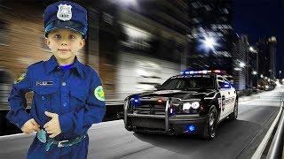Поліцейський Данік і Поліцейські Машинки всі серії підряд. Збірка дитячих відео
