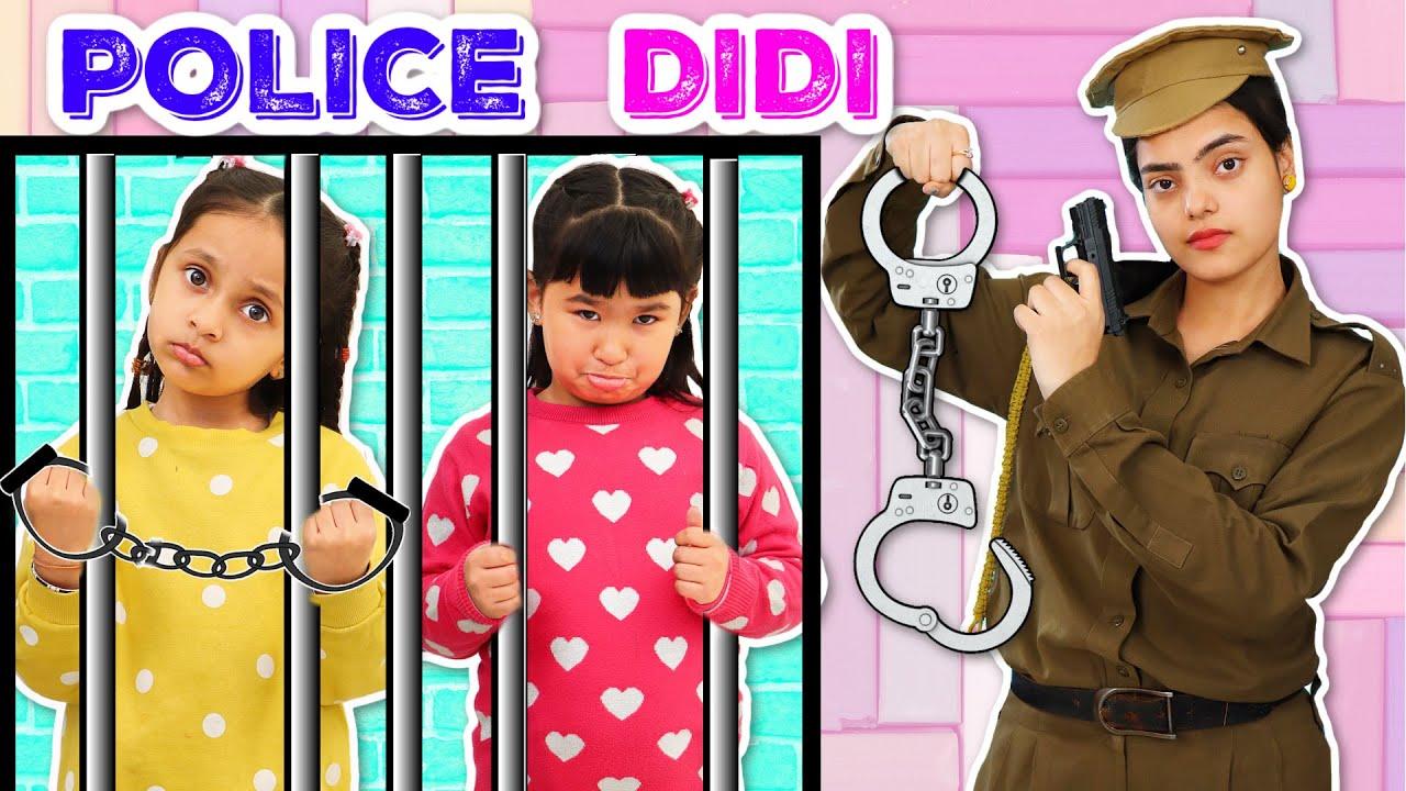 Download Kids Pretend Play POLICE DIDI - Good vs Bad Habits   ToyStars