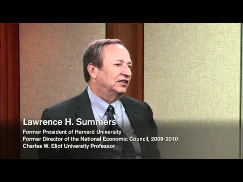 Decision-Making in the Field: Lawrence Summers   Voices in Leadership