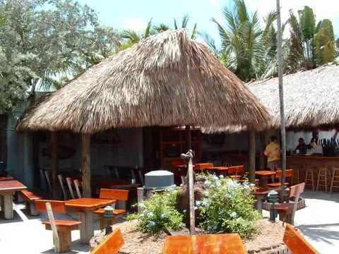Commercial Tiki Bar Thatch Huts Youtube
