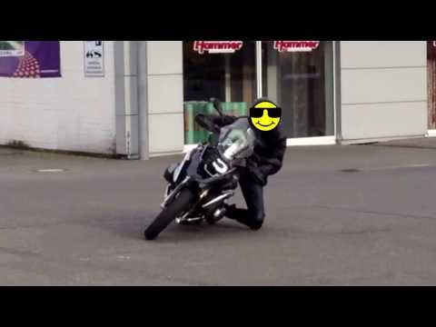 Knieschleifen mit BMW R 1200 GS LC