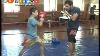 Подготовка к чемпионату России по тайскому боксу.