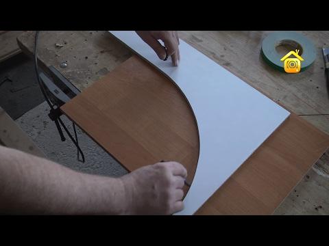 Мебель своими руками! Как сделать шкаф-купе самому часть 3 Как установить двери в шкаф купе