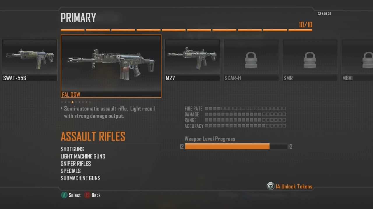 black ops 2 assault rifle comparison youtube