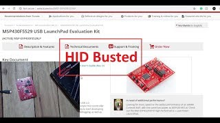 human Interface device Application with Msp430 RoboSense