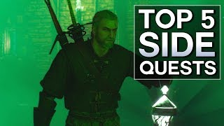 Witcher 3 - Top 5 Side Quests (Velen)