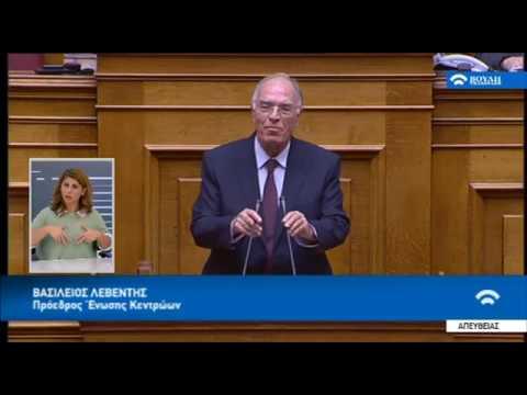 Β. Λεβέντης: Σε όλα θα υπογράψουμε αλλιώς θα φύγουμε από το ευρώ