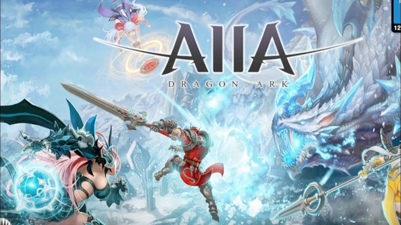 AIIA- DRAGON ARK GAMEPLAY UNREAL URINGE 4 ANDROID IOS.2017