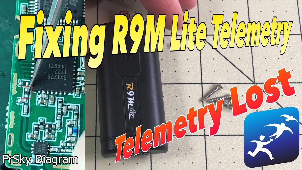 FrSky Taranis R9M Lite Telemetry Fix! Telemetry Lost at 20