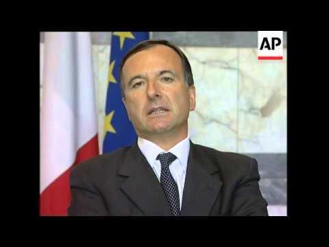 """Italian FM criticises foreign press reports about Berlusconi as """"rubbish"""""""