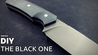 Knife Making - The Black One