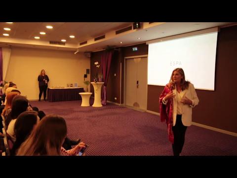 ESPA founder Susan Harmsworth at ESPA Riga