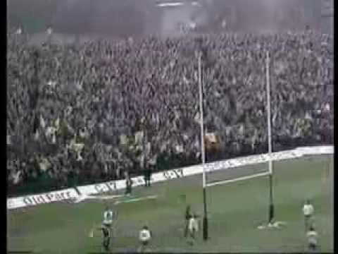 Scotland v France from 1980 at Murrayfield