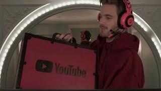 UNBOXING DEL BOTON DE 100 MILLONES DE SUSCRIPTORES|Unboxing 100 MIL YouTube AWARD!!