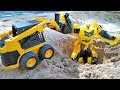 Игры с трансформерами - Видео про машинки - Бамблби