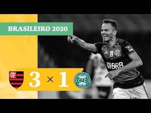 Flamengo RJ Coritiba Goals And Highlights