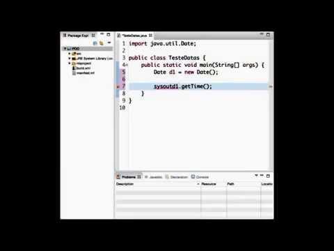 Implementando Classes Date e Calendar - Java