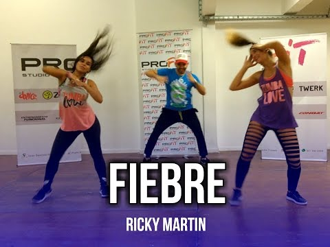 Fiebre - Ricky Martin ft. Wisin, Yandel | Kf Dance ( Coreografía Zumba®)