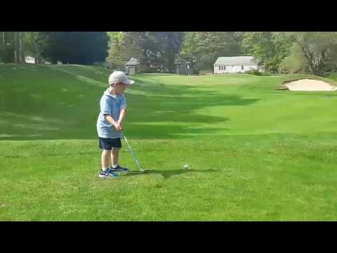 Cape Cod Golf - Spring 2017 - Daniel Gibbons - age 5