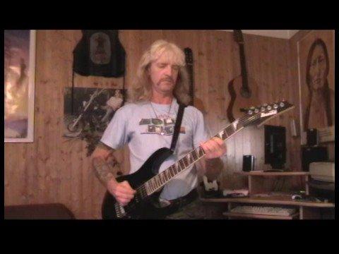 Gary Glitter- Rock& Roll Part 2- guitar cover