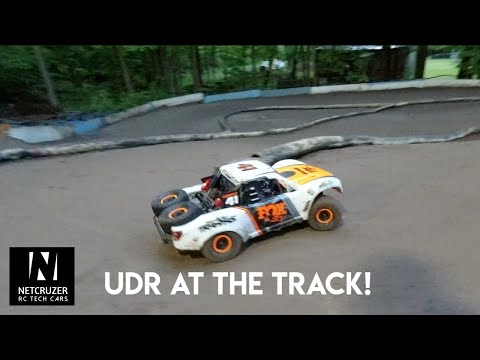 Traxxas UDR On The Race Track! - Netcruzer RC