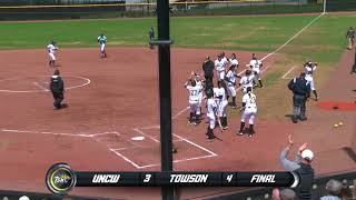 Towson Softball Takes Both Games Over UNCW 4-3 in Game One and 13-3 in Game Two