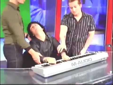 Billie Joe Armstrong Playing Piano