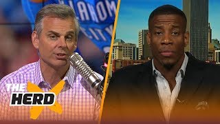 Antonio Daniels joins Colin Cowherd to defend Russell Westbrook | THE HERD