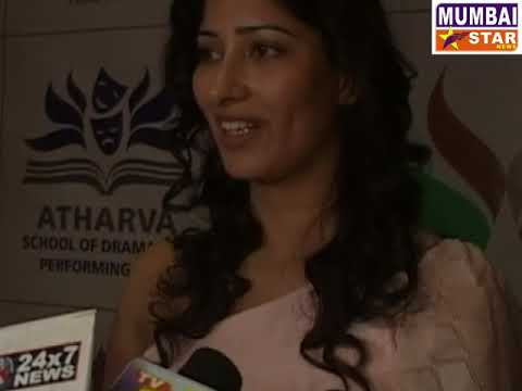 ATHARVA SHORT FILM AND DOCUMENTARY FILM FESTIVAL PRIZE DISTRIBUTION  WITH NIHARICA RAIZADA
