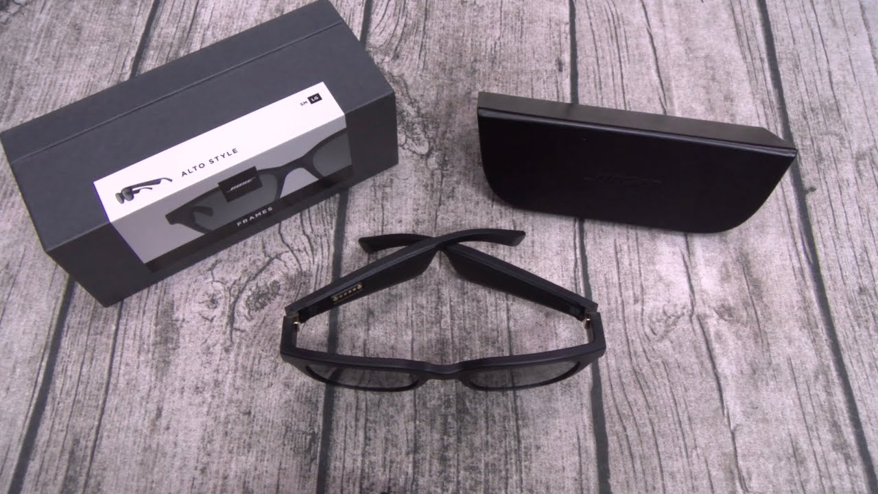 8c97ec7c19 Bose Frames Audio Sunglasses - Are They Worth  200  - YouTube
