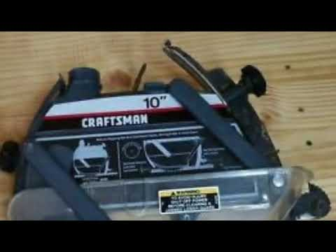 """The 10"""" Craftsman Radial Arm Saw Lives!"""