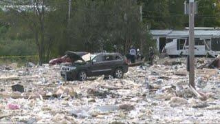 Crews comb through rubble, dogs missing, health updates after Farmington explosion