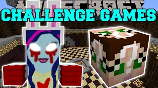 minecraft creepy girl challenge games lucky block mod modded mini game