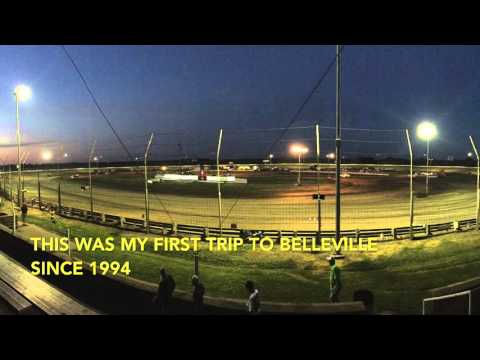 Belleville High Banks - Cruiser racing action