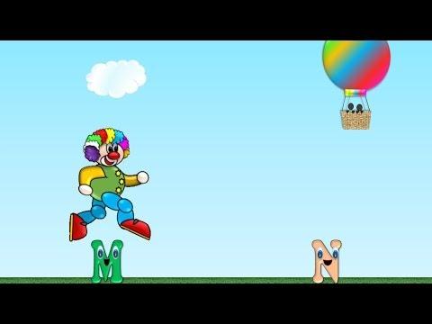 alphabet-race-video-game-for-children,-carrera-del-abecedario-en-inglés-para-niños